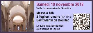lCliquer ici pour télécharger une présentation de l'église romane de Saint Martin de Bouillac
